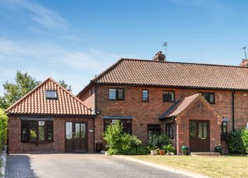 Thumbnail 6 bed detached house for sale in Low Road, Keswick, Norwich