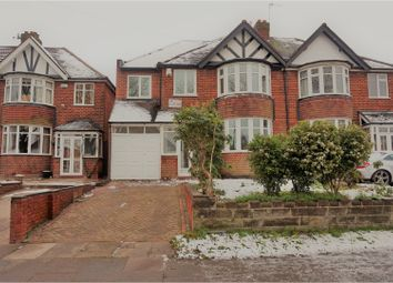 Thumbnail 5 bedroom semi-detached house for sale in Wake Green Road, Birmingham