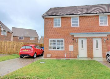 Thumbnail 3 bed semi-detached house for sale in Bowyer Way, Morpeth