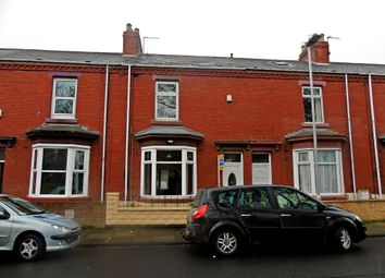Thumbnail 2 bed terraced house for sale in Jesmond Road, Hartlepool