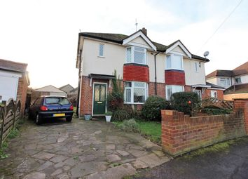 Thumbnail 3 bed semi-detached house to rent in The Crescent, West Molesey