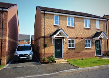 Thumbnail 2 bed semi-detached house for sale in Burbank Burrow, Stafford