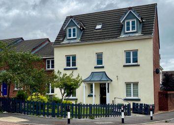 Thumbnail 4 bed town house for sale in Longacres, Brackla, Bridgend