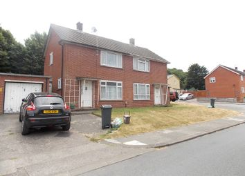 Thumbnail 2 bed end terrace house for sale in Heol Y Castell, Ely, Cardiff.