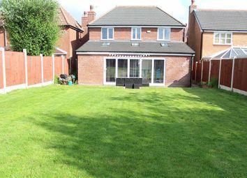 Thumbnail 4 bedroom detached house for sale in Barnstaple Way, Cottam, Preston