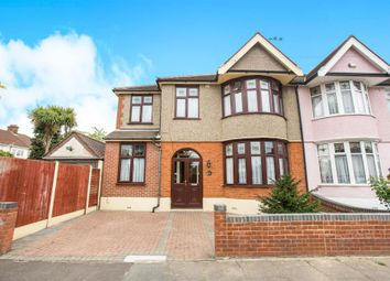 Thumbnail 5 bedroom end terrace house for sale in Seaton Avenue, Ilford