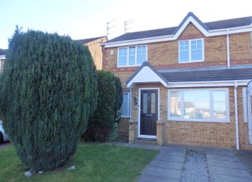 Thumbnail 3 bed semi-detached house to rent in Yew Close, Spennymoor