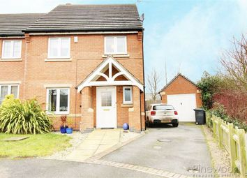 Thumbnail 3 bed end terrace house to rent in Knighton Close, Hasland, Chesterfield, Derbyshire