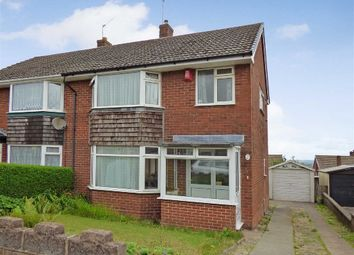 Thumbnail 3 bed semi-detached house for sale in Heath Grove, Meir Heath, Stoke-On-Trent