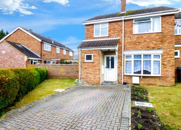 Thumbnail 3 bed semi-detached house for sale in Browns Crescent, Harlington, Dunstable