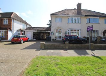 Thumbnail 3 bed semi-detached house for sale in Elgar Avenue, Surbiton