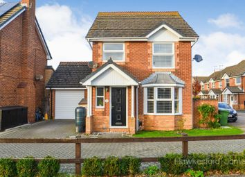 Thumbnail 3 bed detached house for sale in Walsby Drive, Kemsley, Sittingbourne