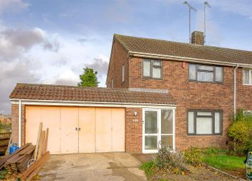 Thumbnail 3 bed semi-detached house for sale in Welford Road, Kingsthorpe, Northampton