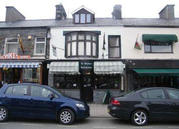 Thumbnail 3 bed flat for sale in High Street, Porthmadog, Gwynedd
