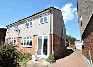 3 bed semi-detached house to rent in Silverlocke Road, Grays, Essex RM17