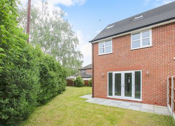 Thumbnail 4 bed semi-detached house for sale in Forbes Close, Stockport