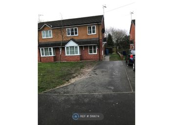 Thumbnail 3 bed semi-detached house to rent in Range Road, Wrexham