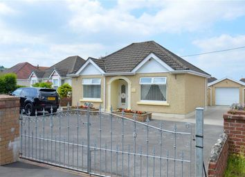 Thumbnail 3 bedroom detached bungalow for sale in New Road, Llanmorlais, Swansea