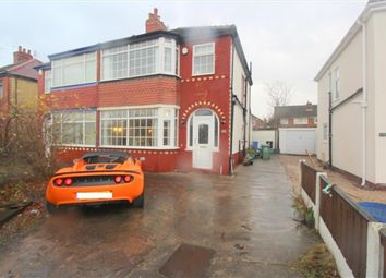 Thumbnail 3 bed property for sale in West Drive, Thornton Cleveleys