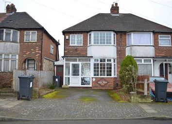 Thumbnail 3 bedroom semi-detached house to rent in Bryn-Arden Road, South Yardley, Birmingham