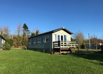 Thumbnail 2 bed mobile/park home for sale in Single Lodge, Sherborne Causeway, Shaftesbury, Dorset