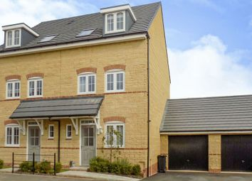Thumbnail 3 bedroom semi-detached house for sale in St. Andrews Court, Lyall Close, Blunsdon, Swindon