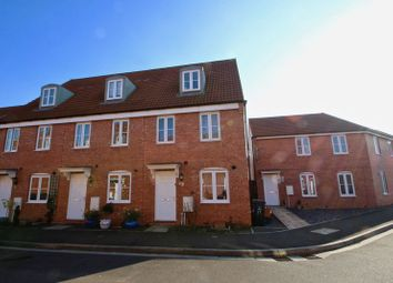 Thumbnail 3 bedroom end terrace house for sale in Sharpham Road, Glastonbury