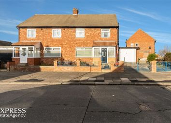 Thumbnail 3 bed semi-detached house for sale in Tilbury Road, Sunderland, Tyne And Wear