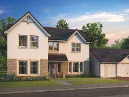 Thumbnail 4 bedroom detached house for sale in Kenneth Place, Dunfermline