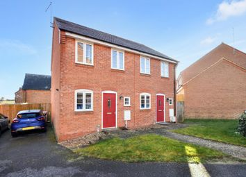 Thumbnail 2 bed semi-detached house for sale in Long Breech, Mawsley, Kettering