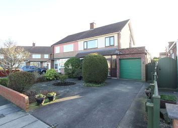 Thumbnail 3 bed semi-detached house for sale in 72, Tunstall Road, Stockton-On-Tees, Durham