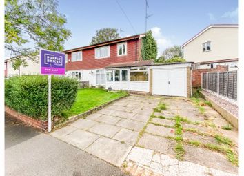 Thumbnail 3 bed semi-detached house for sale in Coniston Crescent, Birmingham