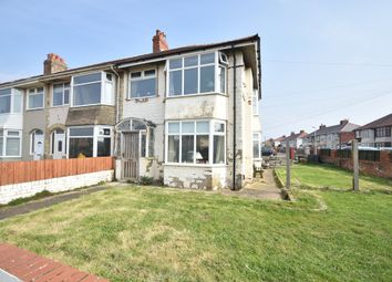 Thumbnail 3 bed end terrace house for sale in Ventnor Road, Blackpool