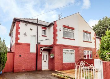 Thumbnail 3 bedroom semi-detached house for sale in Kings Crescent, Manchester, Greater Manchester