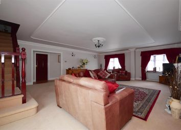 Thumbnail 4 bed detached bungalow for sale in Hedge Place Road, Stone, Kent