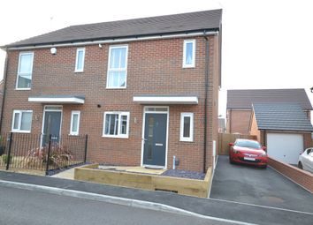 Thumbnail 3 bed semi-detached house for sale in William Langham Drive, Stoke-On-Trent