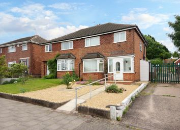 Thumbnail 3 bed semi-detached house for sale in Parkside Road, Handsworth Wood, Birmingham, West Midlands