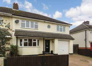 Thumbnail 4 bed semi-detached house for sale in Station Road, Warboys, Huntingdon