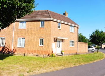 Thumbnail 3 bed semi-detached house for sale in Dragonfly Road, Swindon