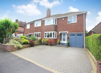 Thumbnail 4 bed semi-detached house for sale in Bradbury Road, Solihull