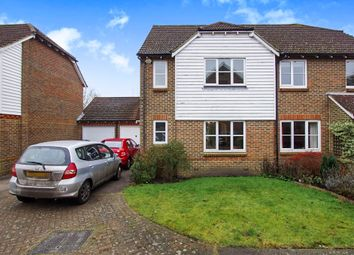 Thumbnail 3 bed semi-detached house for sale in Malthouse Way, Cooksbridge, Lewes
