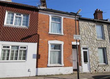 Thumbnail 2 bed terraced house for sale in Oxford Road, Southsea