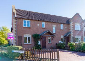 Thumbnail 3 bedroom end terrace house for sale in St. Giles Close, Holme, Peterborough
