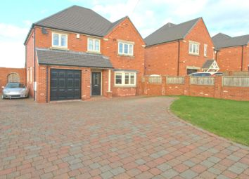 Thumbnail 4 bed detached house for sale in Locko Road, Lower Pilsley, Chesterfield
