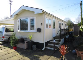 Thumbnail 1 bed mobile/park home for sale in Hogshead Lane, Oakmere, Northwich