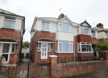 Thumbnail 3 bed semi-detached house for sale in Wardrew Road, St. Thomas, Exeter