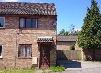 Thumbnail 2 bed end terrace house to rent in Davis Avenue, Bryncethin, Bridgend