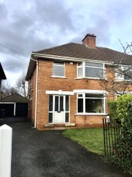 Thumbnail 3 bedroom semi-detached house to rent in Wynard Park, Belfast