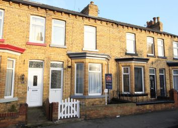 Thumbnail 3 bed terraced house for sale in Garfield Road, Scarborough