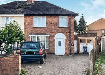 Thumbnail 3 bedroom semi-detached house for sale in St Bernards Avenue, Belgrave, Leicester